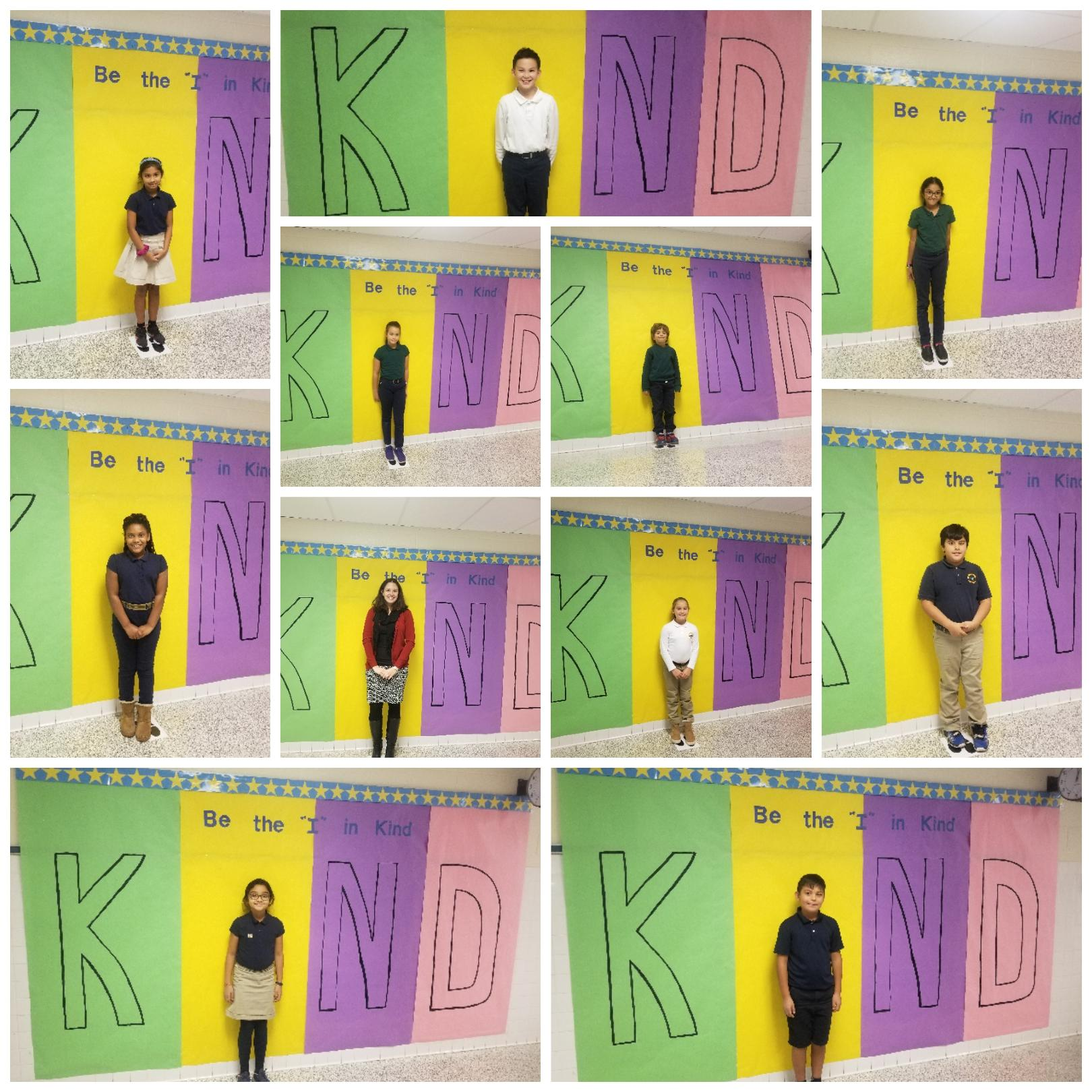 image of students with KIND
